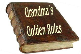My Grandma's 5 Golden (Social Networking) Rules