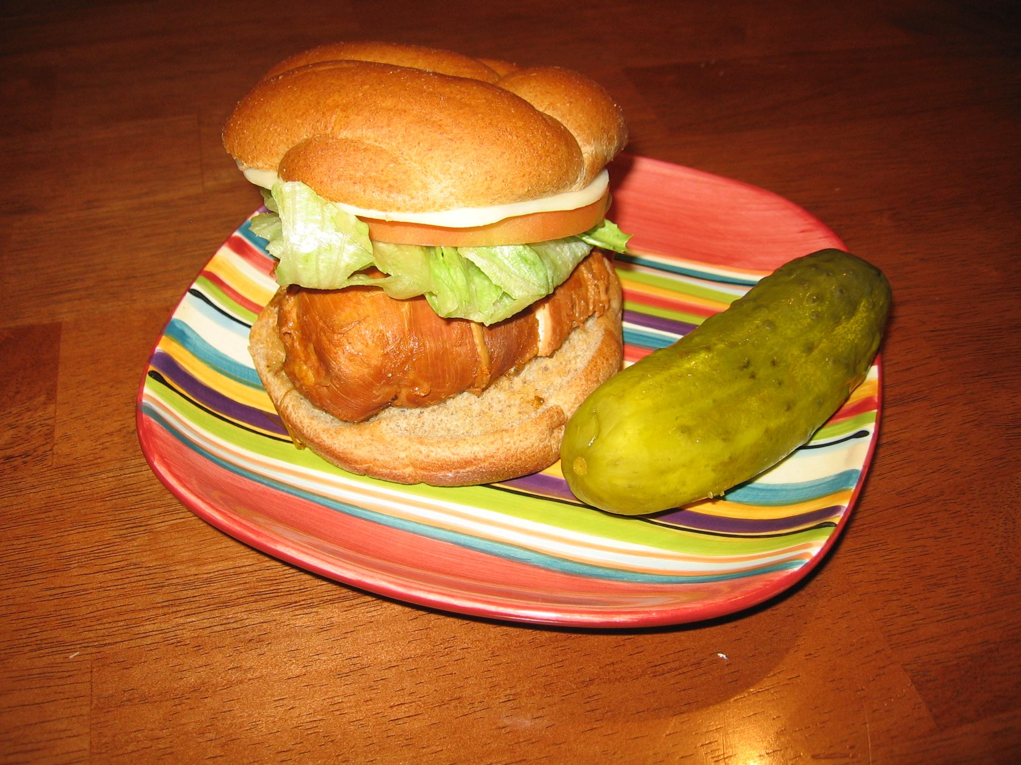 The Diablo Jalapeño Chicken Sandwich