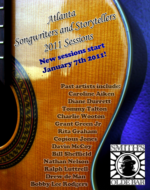 Atlanta Songwriters and Storytellers 2011 Sessions