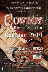 Cowboy Reunion with caroline Aiken Opening