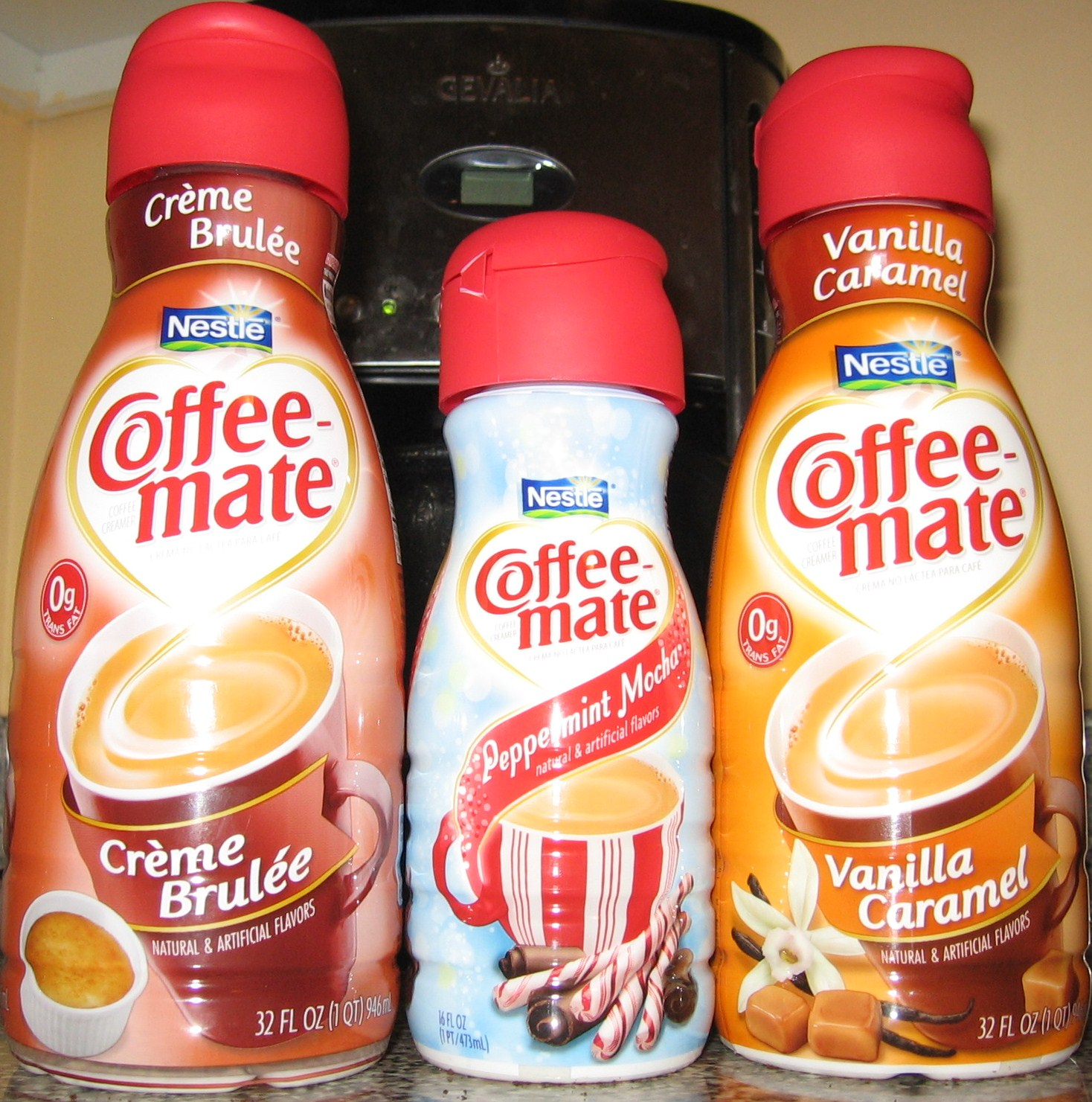 Coffee-Mate Flavors