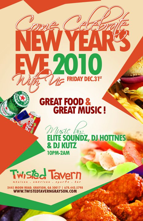 TWISTED TAVERN-NEW YEAR'S EVE PARTY