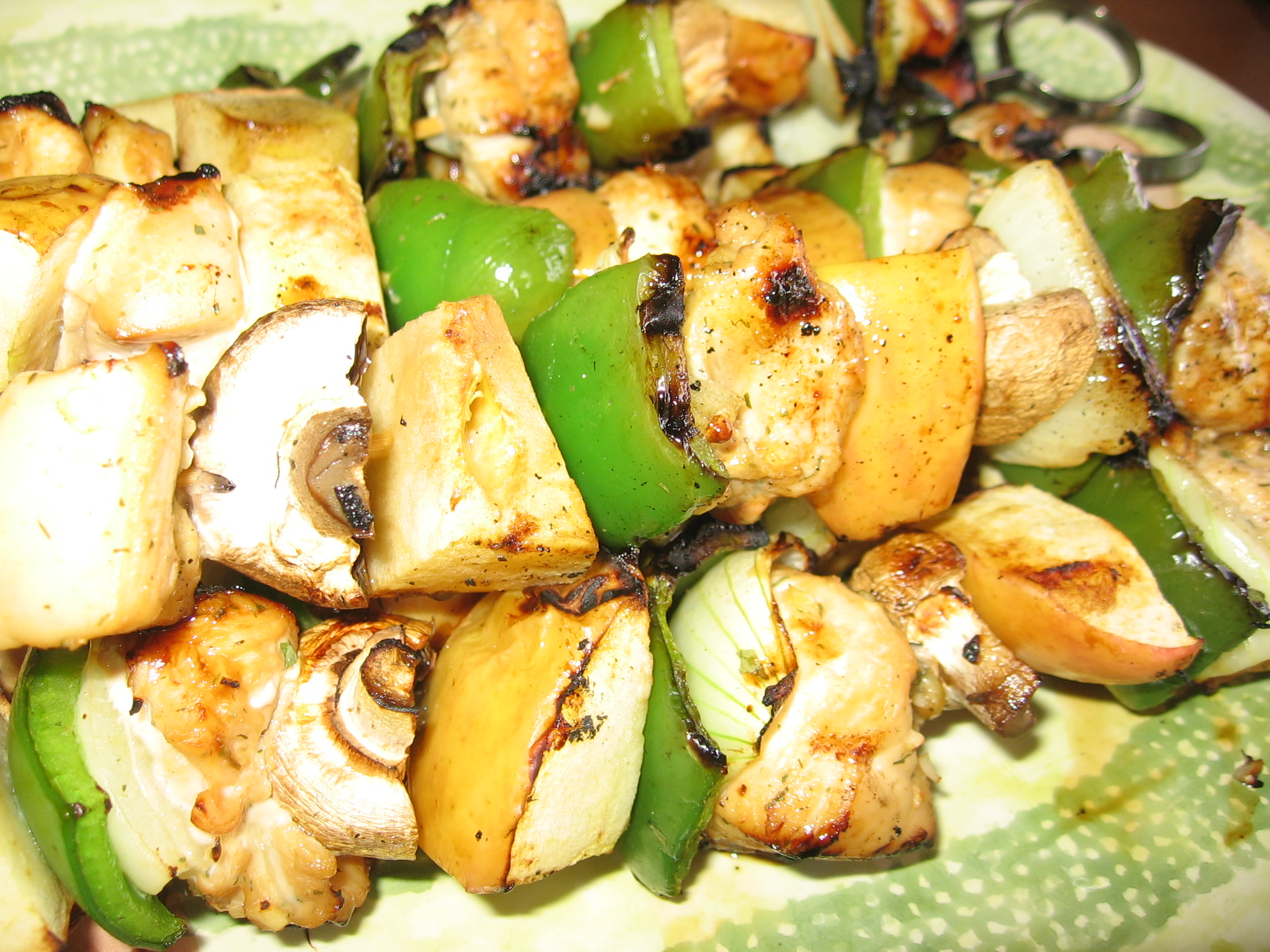 Chicken Kabobs on the Grill