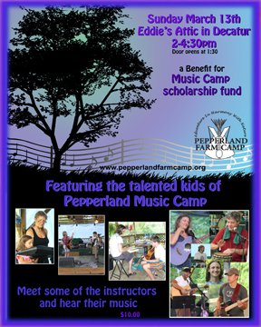 Help me help a young kid in an impoverished area of Atlanta get to go to music camp with us this summer!
