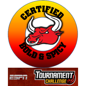 March Madness Bold Spicy Bracket Challenge