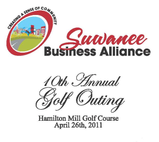 April 26th-Suwanee Business Alliance 10th Annual Golf Outing