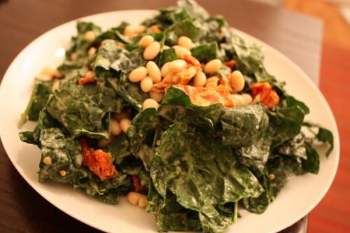 Kale and White Bean Salad