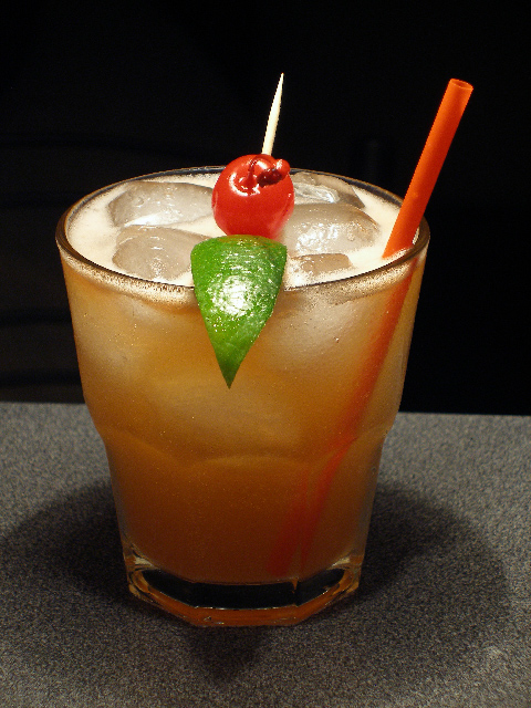 Mary's Mad Mai Tai From Lettuce Martini