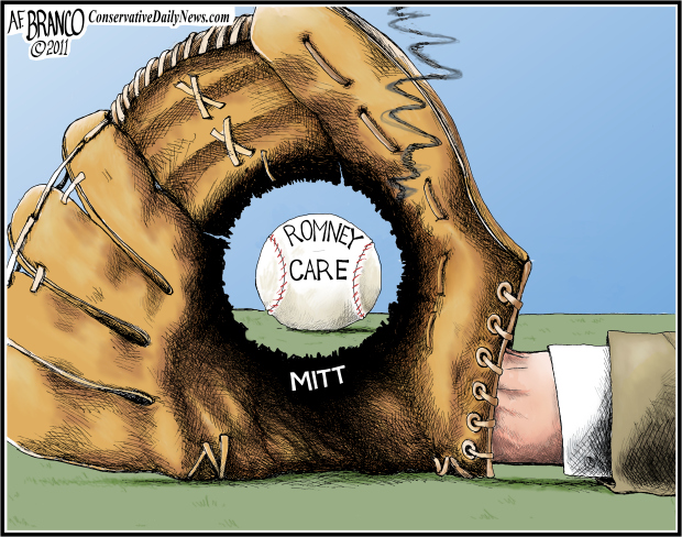 Mitt in Left Field – Antonio F. Branco