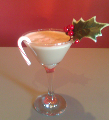 Peppermint Patty Martini – Lettuce Martini
