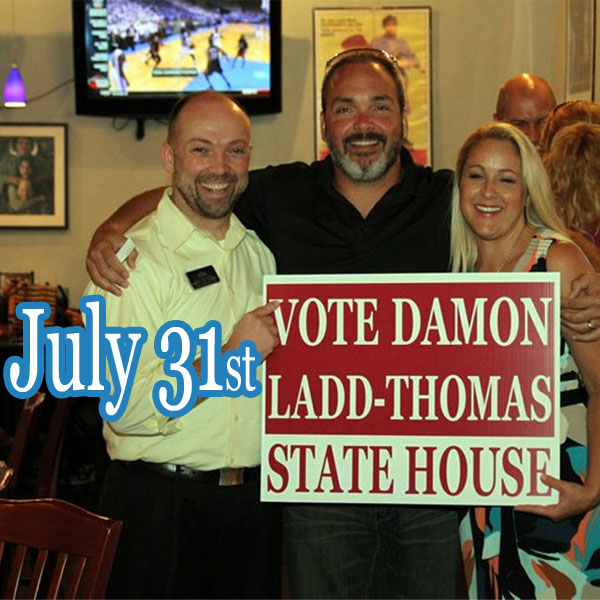 Damon Ladd-Thomas Deserves Your Vote for New District 105 in Georgia's House of Representatives