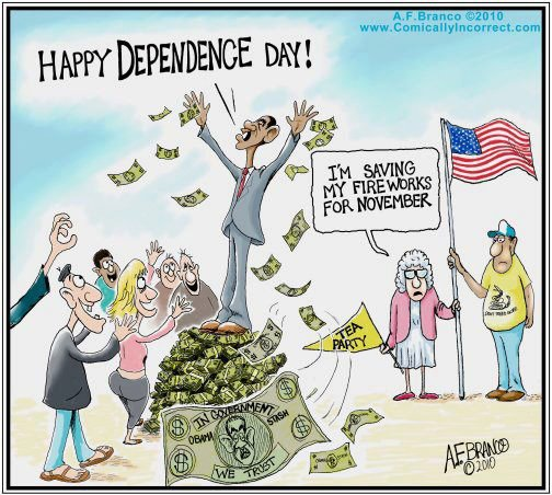 Happy Dependence Day – Antonio F Branco