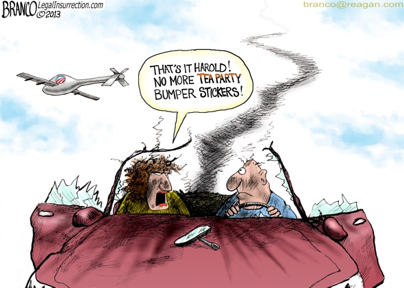 Tea Party Bumper Sticker- A.F.Branco