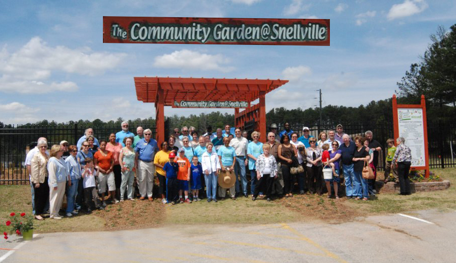 Snellville Community Garden- What's the Big Deal?