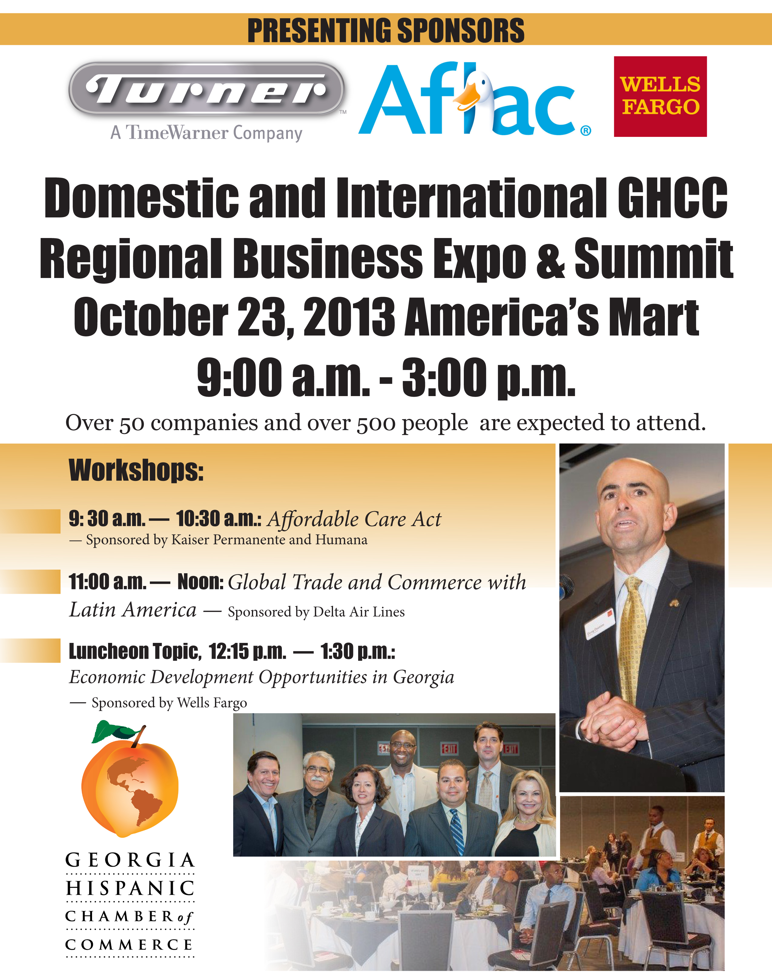 GHCC BUSINESS EXPO 2013 FLYER OCT 9 2013.indd