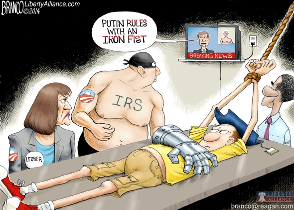 A Tool for Tyranny, The IRS – Antonio Branco