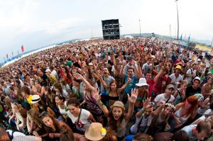 Live Music Crowd