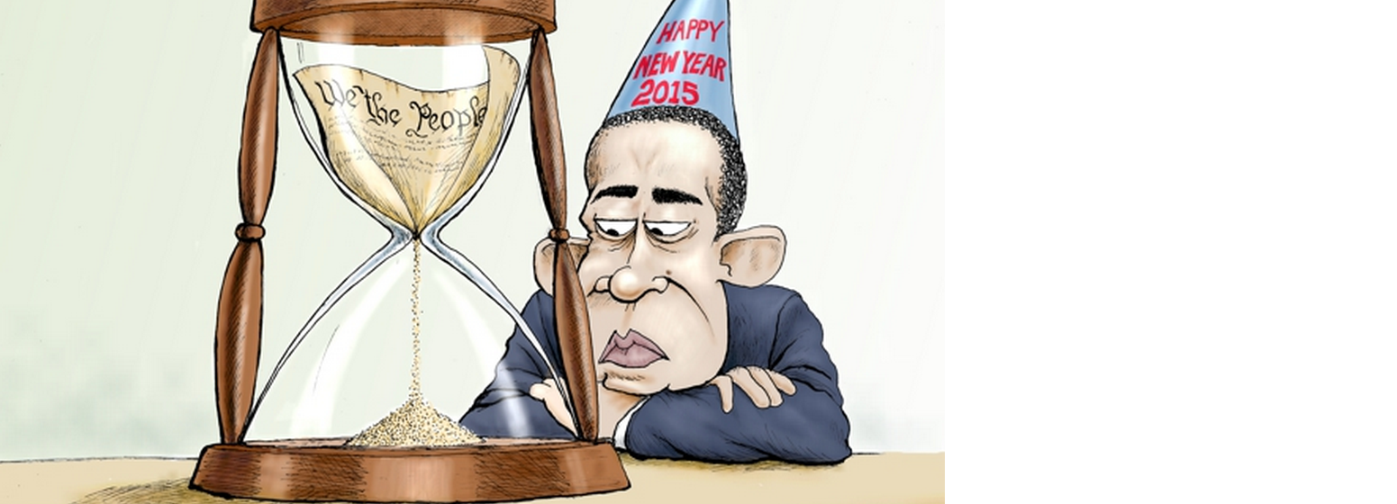 Obama New Years – A.F. Branco