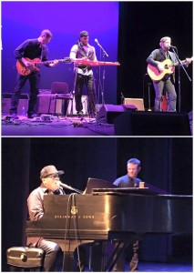 Luther Dickinson, Robert Randolph, Rich Robinson & Ivan Neville rockin at The Center for the Arts