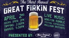 3rd Annual Firkin Fest Announced in Downtown Mobile, AL