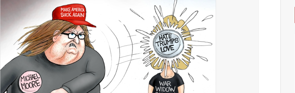 Moore Hate From The Left – Branco