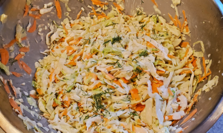 Betsi's Coleslaw from scratch